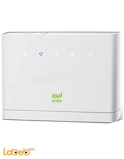 Zain 4G Router 150Mbps white color B315s-22 model