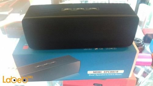 Bluetooth mini speaker 2x1.5W Black