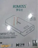 Romoss Sense 6 Plus LCD Power Bank 20000mAh White PH80