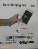 Data charging Line USB ios & android 0.2m white color