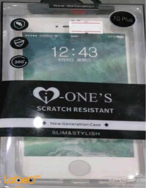 New Genration clear scratch resistant Case 360° iPhone 7plus