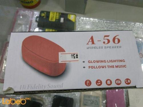 Spectrum Wireless Speaker Glowing Lighting 3w white A-56