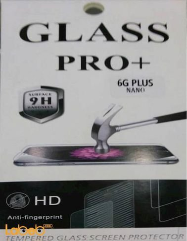 Glass pro+ premium tempered screen protection iphone 6+ clear
