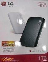 LG External hard disk drive 1TB USB 3.0 black HXD71TBB