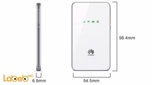 Huawei mobile wifi, 3G, 1500mAh, white, E5338 model