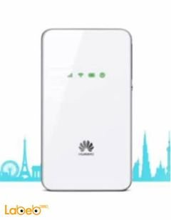 Huawei mobile wifi - 3G - 1500mAh - white - E5338 model
