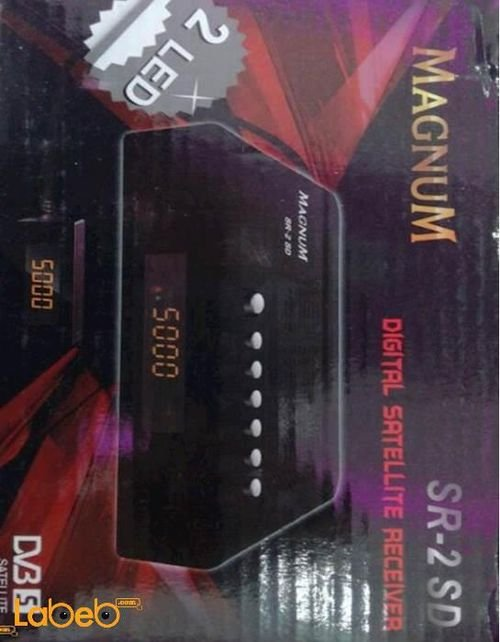 رسيفر ماغنوم 4000 قناة متعدد اللغات موديل SR-2 SD