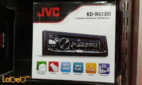 JVC CD Receiver KD-R473M 2000W with Front USB/AUX Input
