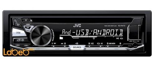 JVC CD Receiver 2000Watt with Front USB/AUX Input KD-R473M model