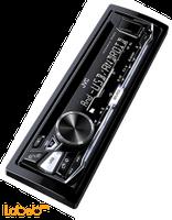مسجل وراديو سيارة JVC قدرة 2000 واط منفذ USB/AUX موديل KD-R473M