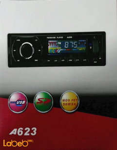 Car radio - USB port - SD port - 50 Wattx4 - A623 model