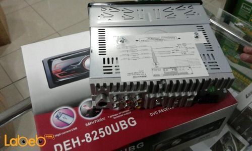 مسجل وراديو سيارة دي في دي  DEH-8250UBG قدرة 200 واط