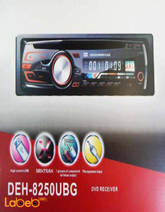 DVD receiver and radio - 200 Watt - DEH-8250UBG model