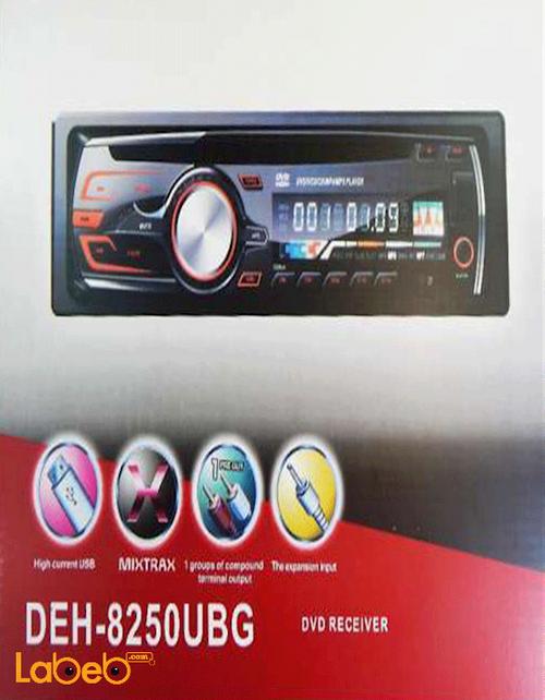 مسجل وراديو سيارة DVD قدرة 200 واط DEH-8250UBG