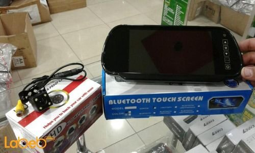 Bluetooth touchscreen HD Auto waterproof camera and Black color