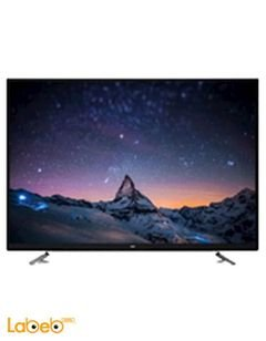 Source Smart 4K LED TV - 65 inch - wifi - silver - 65ku10000