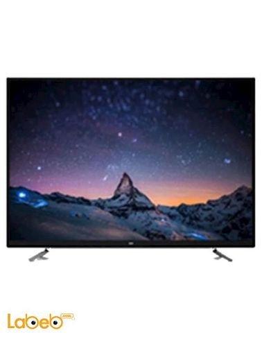 Source Smart 4K LED TV - 65 inch - wifi - silver - 65ku10000