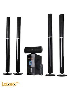 Nikai 5.1 Channel Home Theatre With Bluetooth - black - NHT6500BT