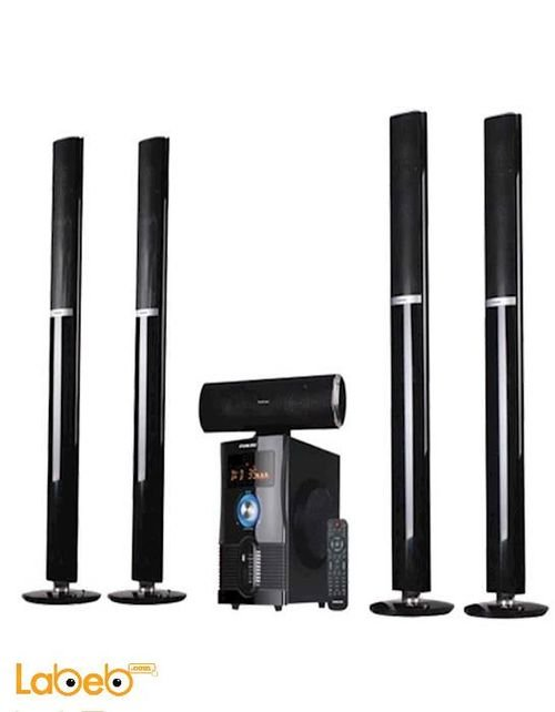 Nikai 5.1 Channel Home Theatre With Bluetooth black NHT6500BT