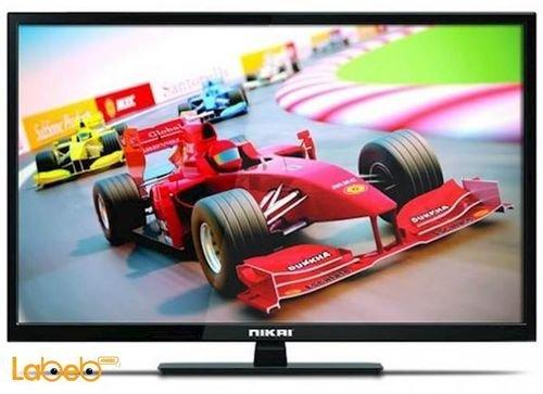 شاشة نيكاي حجم 32 انش 1366*768 بكسل أسود NTV3272LED8