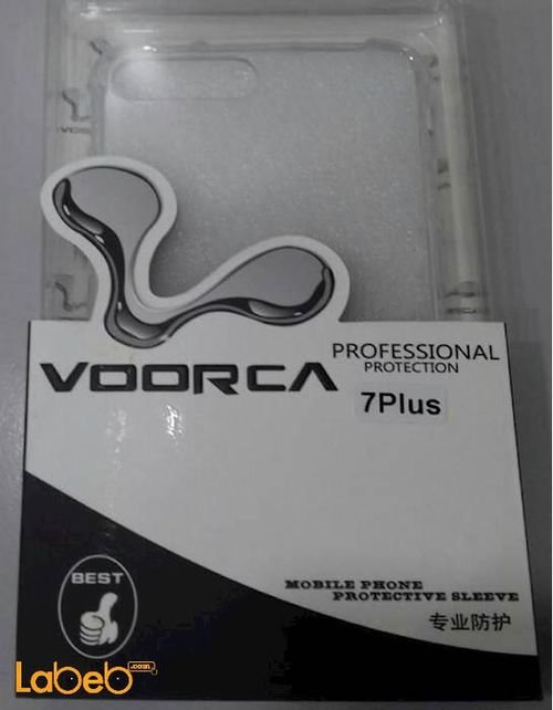 Voorca Mobile back cover for iPhone 7 plus clear color