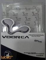 غطاء خلفي للموبايل Voorca مناسب لأيفون 6 بلس لون شفاف