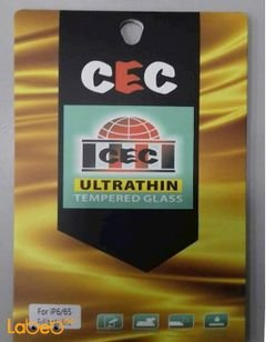 CEC tempered glass protector - iPhone 6S - 4 layers - clear color