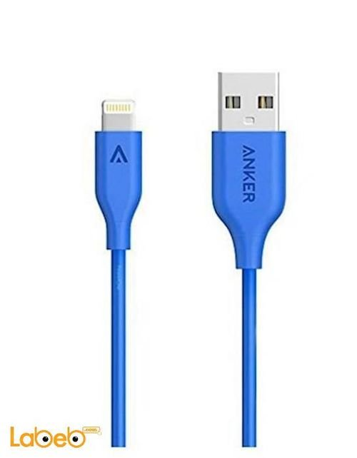 Anker Micro USB Android devices 0.9m Blue A8111H31