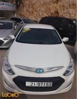 Hyundai Sonata 2012 Engine Capacity 2000 Hybrid white color
