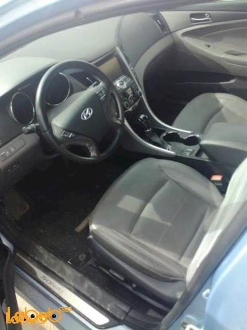 سيارة هونداي سوناتا 2012 هايبرد أزرق مستورد