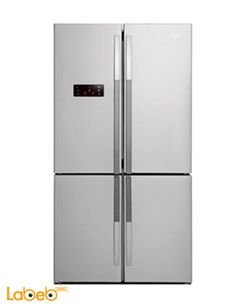 Beko Side by Side Refrigerator - 503L - Stainless - GNE114612X
