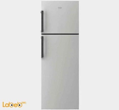 Beko Refrigerator top freezer 385L Silver RDNE390M21M model