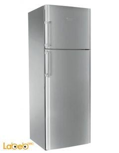 Ariston Top Mount Refrigerator - 456L - Silver - ENXTLH 19222 FW