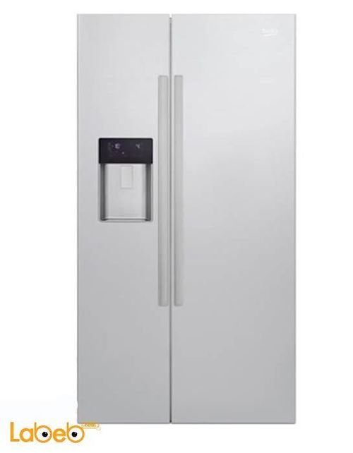 Beko Side by Side Refrigerator 610L Stainless GN163120x