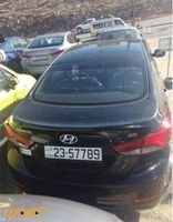 Hyundai Avante MD 2014 Engine Capacity 1600cc Black color