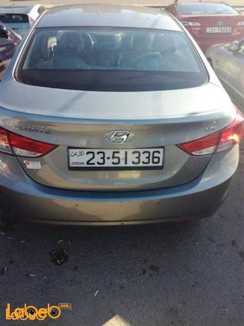 سيارة هونداي أفانتي 2013 لون فيراني
