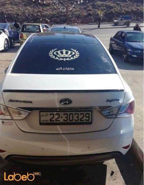سيارة هونداي سوناتا 2012 هايبرد 5000 ميل