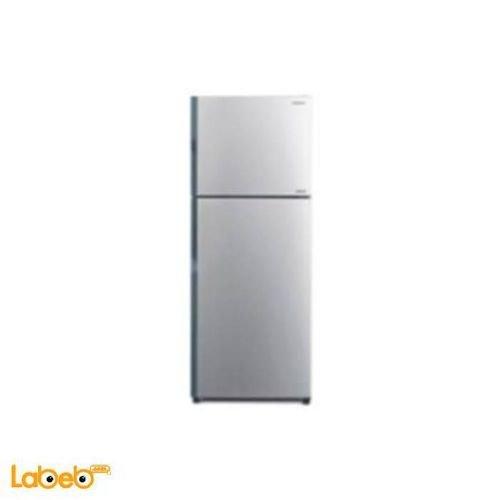 Hitachi Refrigerator top freezer 365L Silver R-V440PJ3