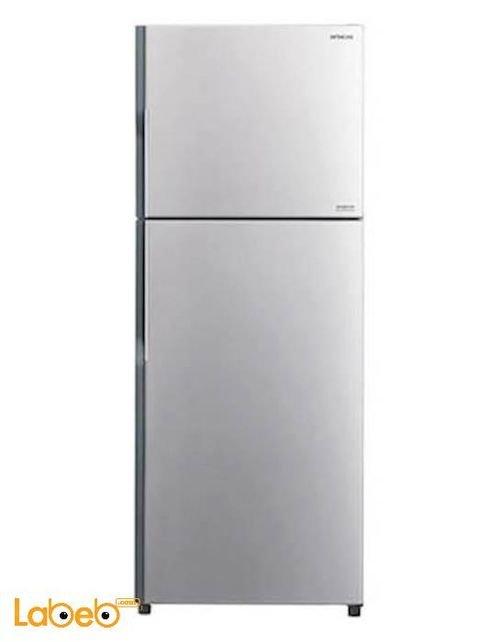 Hitachi Refrigerator top freezer 365L Silver R-V440PJ3 model