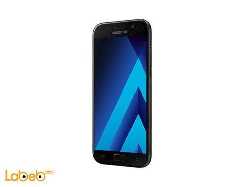 Samsung Galaxy A7(2017) smartphone front side 32GB 5.2inch Black color