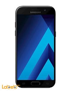 موبايل سامسونج جلاكسي (A7 (2017 - ذاكرة 32 جيجابايت - لون أسود