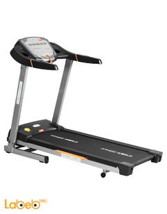 World Fitness tredmail -up to 130Kg - Digitsl screen - 10 program