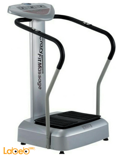 Crazy fit massage - up to 120Kg - 200 Watt - 20 levels Speed