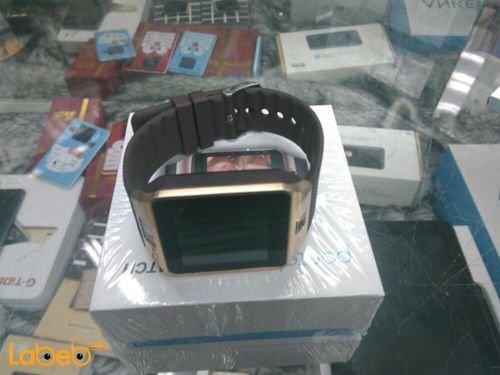 ساعة ذكية Pantel ذاكرة 64 ميجابايت 1.56 انش لون ذهبي P1