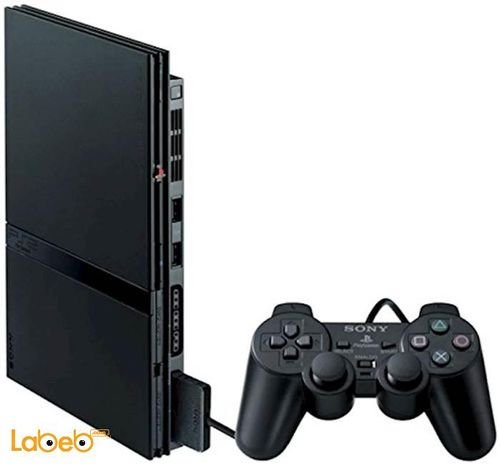Sony PlayStation 2 Slim 32MB Charcoal Black SCPH-90004CB