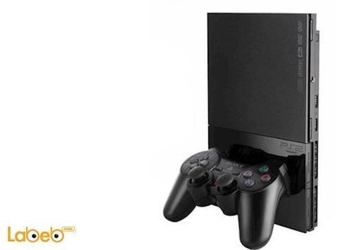 Sony PlayStation 2 Slim 32MB memory Charcoal Black SCPH-90004CB
