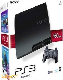 Sony PlayStation 3 Slim - 160GB - Charcoal Black - CECH-3003A