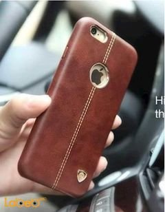 Nillkin Englon Leather Cover - iPhone 6 Plus - brown color