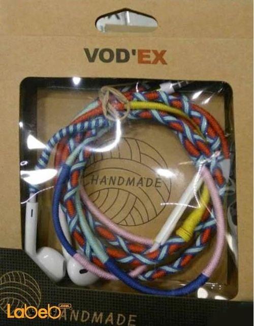 Vodex headphones - universal - microphone Vodex headphones universal microphone multi color- multi color