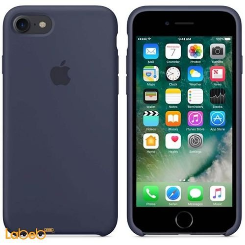 Apple iPhone 7 Silicone Case Midnight Blue color MMWK2FE/A